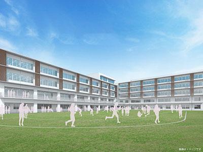 新校舎パースグランド